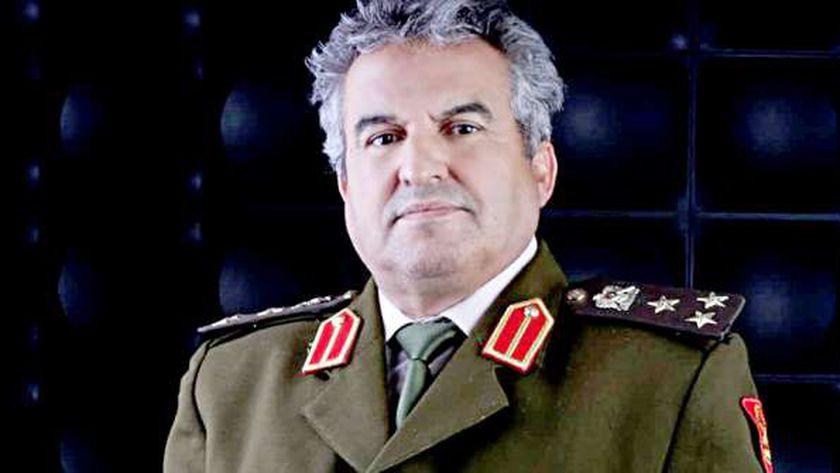 مدير التوجيه المعنوي في الجيش الوطني الليبي العميد خالد المحجوب