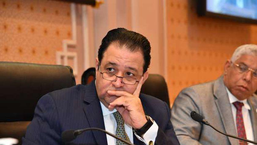 النائب علاء عابد، رئيس لجنة النقل بمجلس النواب