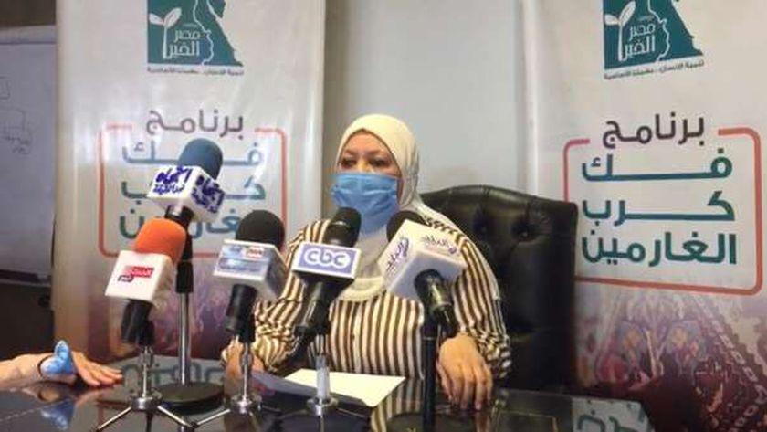 """سهير عوض مدير برنامج الغارمين بمؤسسة """"مصر الخير"""""""