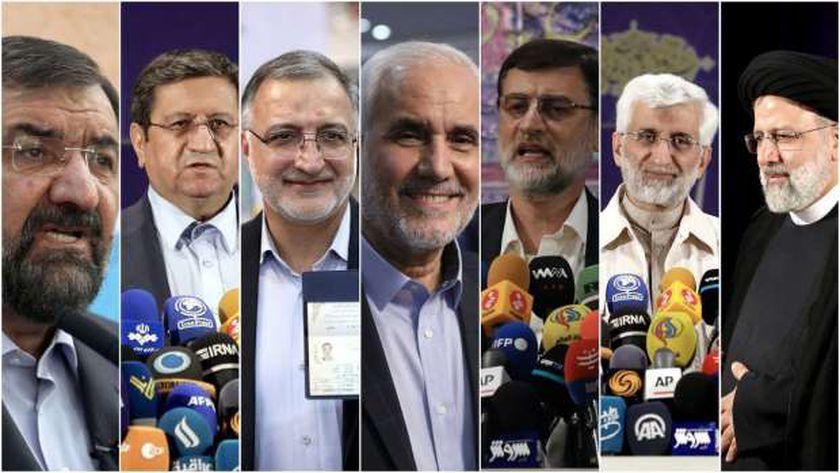 الرئيس الإيراني الجديد سيكون واحدا من هؤلاء المرشحين السبعة
