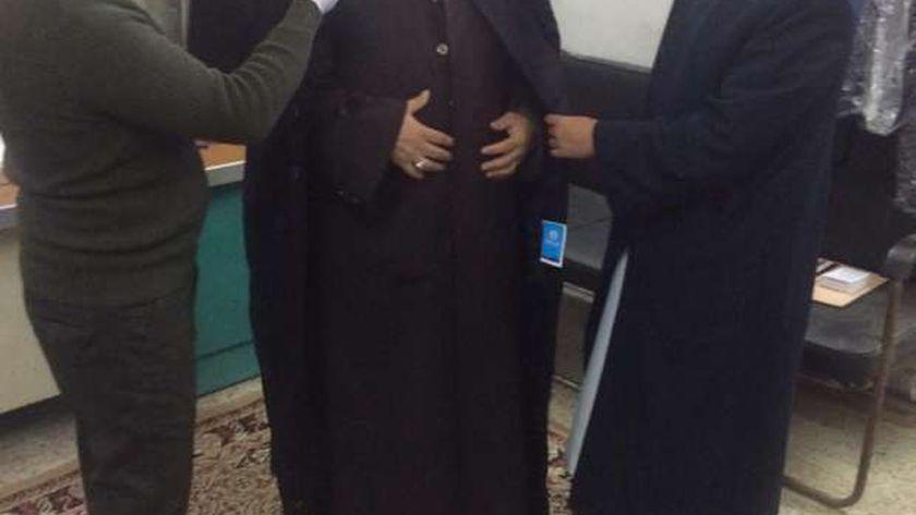 وكيل أوقاف مطروح خلال تسليم الزى الأزهرى لأئمة المساجد بأوقاف مطروح