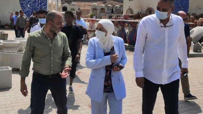 جولة نائب محافظ القاهرة داخل قرية الفواخير