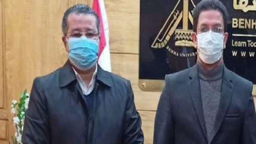 الدكتور ناصر الجيزاوي والدكتور عمرو الدخاخني