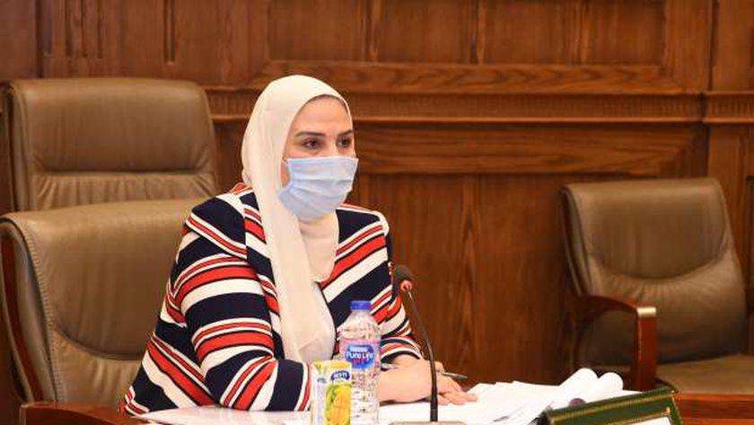 وزيرة التضامن الاجتماعي الدكتورة نيفين القباج