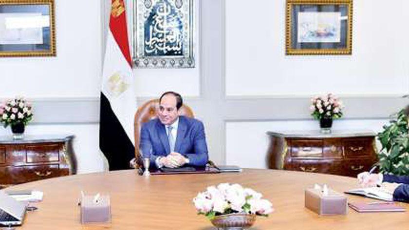 الرئيس عبدالفتاح السيسى رئيس الجمهورية