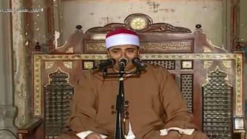 القارئ الشيخ أحمد عوض أبو فيوض