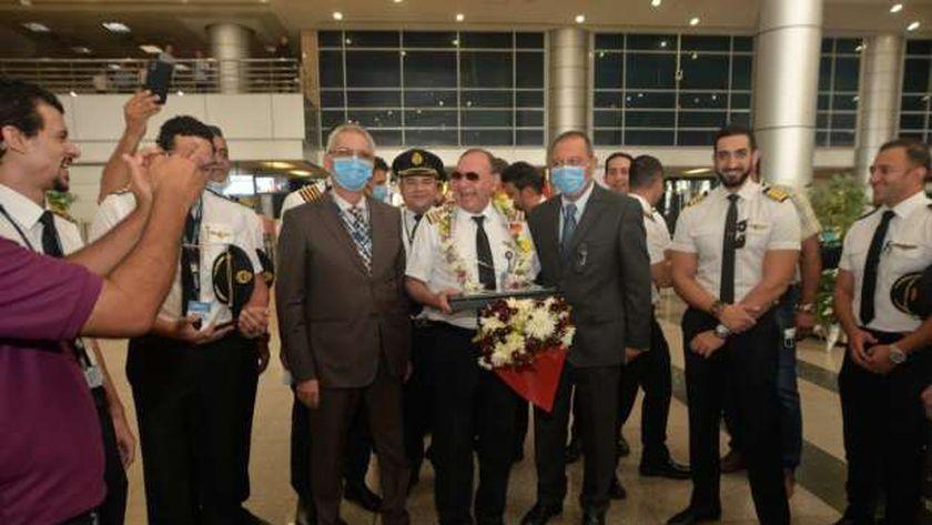 مطار القاهرة الدولي يستقبل 148 رحلة خلال ال 24 ساعة الماضية