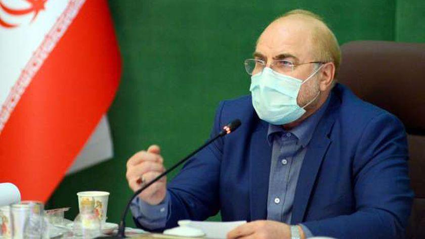 رئيس مجلس الشورى الإيراني محمد باقر قاليباف