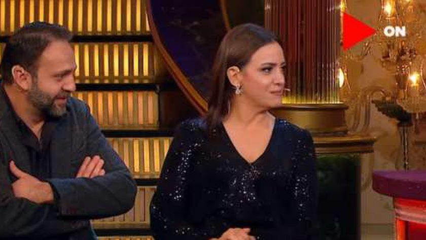 ريهام عبدالغفور وزوجها