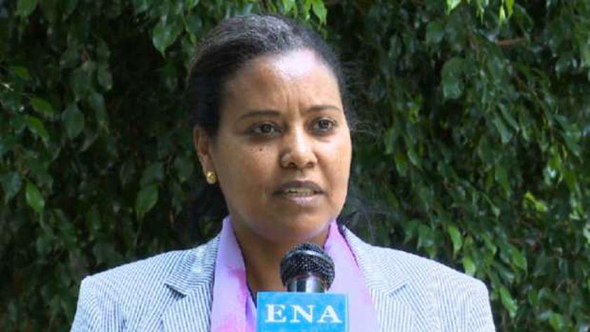 السفيرة الإثيوبية لدي أوغندا المسهاي مسرت