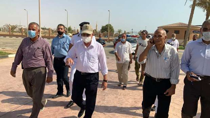 جولة المحافظ بمدينة الطور