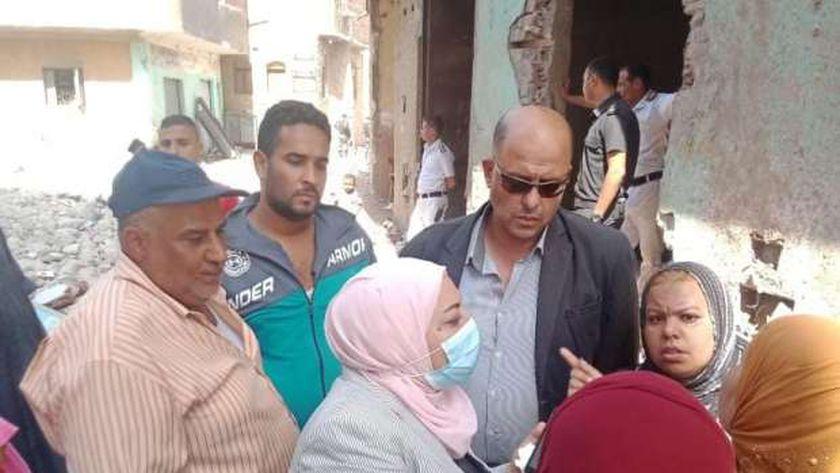 نائب محافظ القاهرة ترد على تساؤلات أهالى أبو قرن