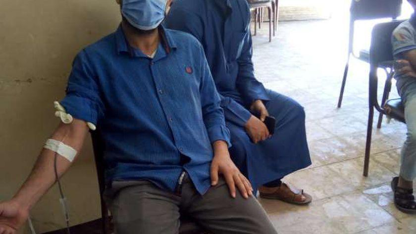 حملة للتبرع بالدم في كفر الشيخ