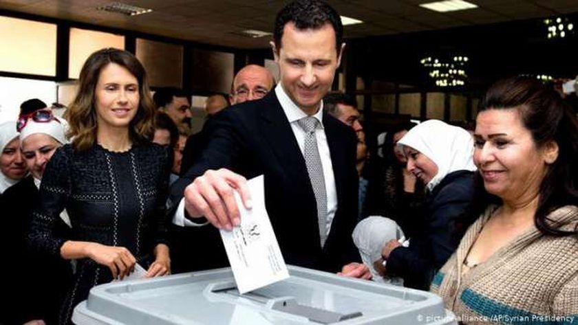 بشار الأسد يفوز بالولاية الرابعة