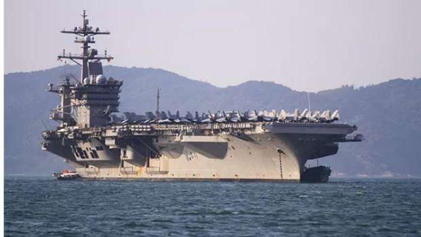 حاملة الطائرات الأمريكية «نيميتز»