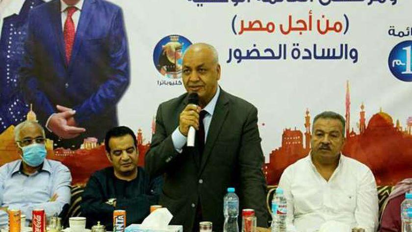 الإعلامي مصطفى بكري من مؤتملا القائمة الوطنية بالأقصر