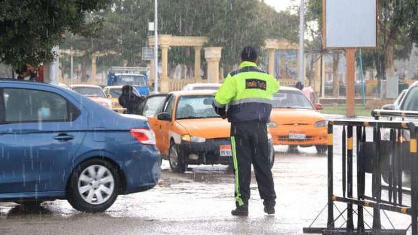 أمطار في الإسماعيلية