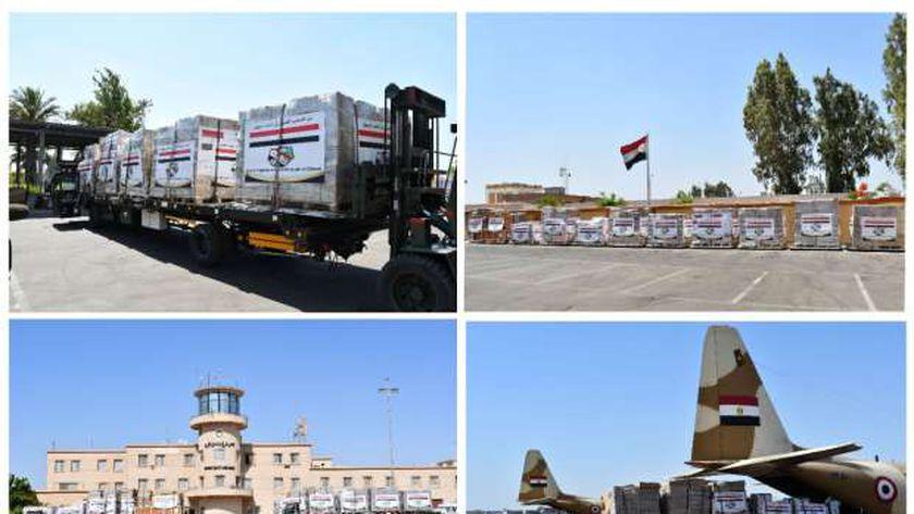 المساعدات المصرية إلى دول العالم