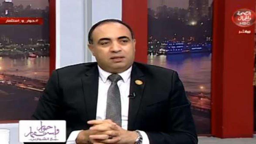 النائب خالد عبدالعزيز فهمي، وكيل لجنة الإسكان بمجلس النواب