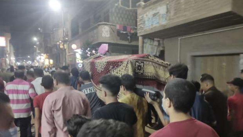 جنازة شاب مدينة تلا