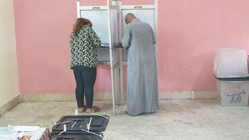 الساعات الاخيرة للانتخابات في دائرة امبابة