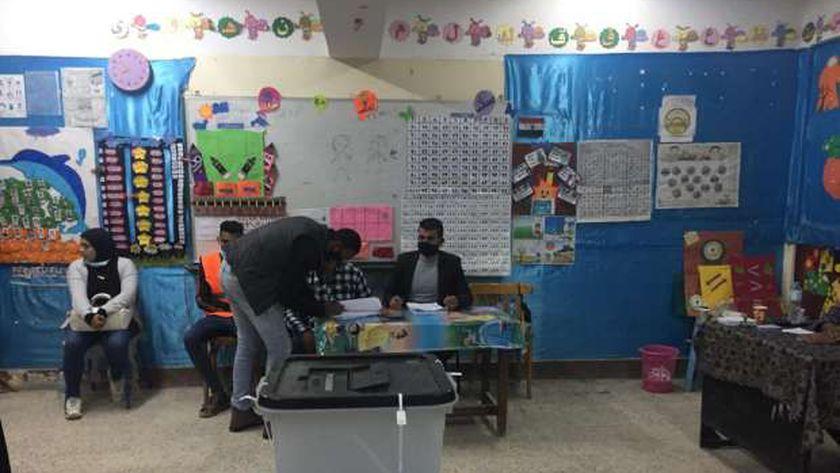 لجنة مدرسة أبوبكر الصديق بمطروح