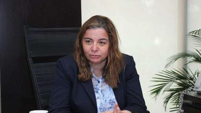 مي عبدالحميد الرئيس التنفيذي لصندوق الإسكان الاجتماعي