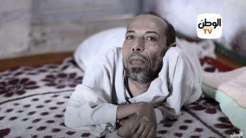 المواطن عصام زايد علي أحد المستفيدين من مبادرة حياة كريمة