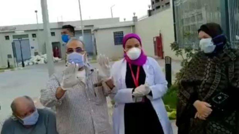 بشرة خير .. خروج ١٨ حالة من فيروس كورونا من الحجر الصحي في الإسكندرية