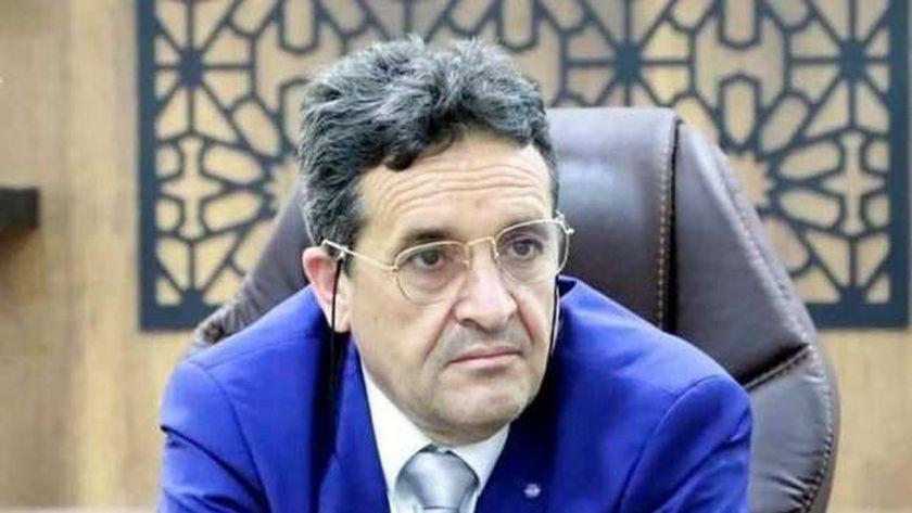 الدكتور سلامة الغويل، وزير الدولة الليبية للشئون الاقتصادية