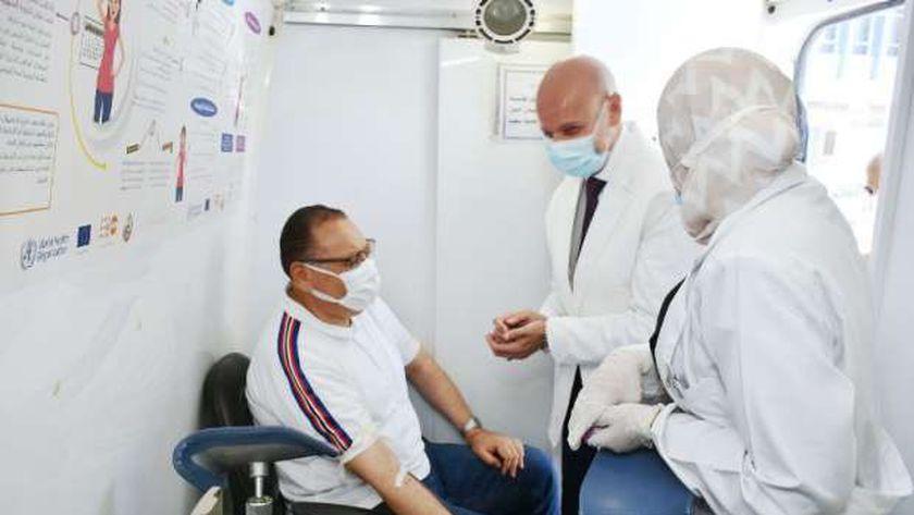 محافظ الشرقية يشهد إنطلاق حملة التبرع بالدم