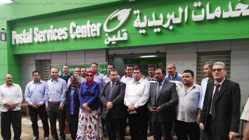 إفتتاح عدداً من مكاتب بريد قلين فى كفر الشيخ بعد تطويرها