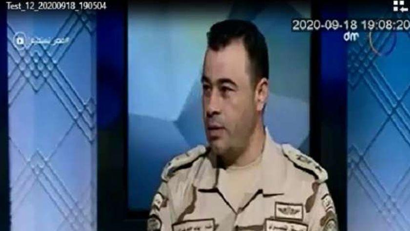 المقدم إيهاب حامد ضابط بقوات حرس الحدود