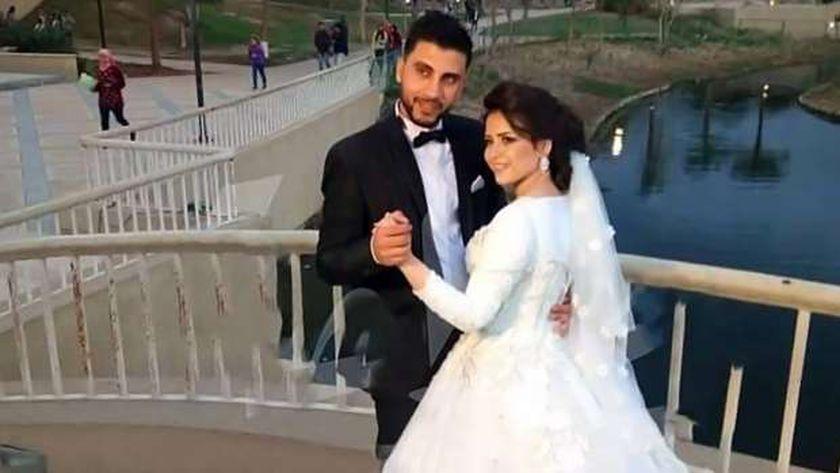 المتهمة بقتل زوجها فى طوخ أثناء حفل الزفاف