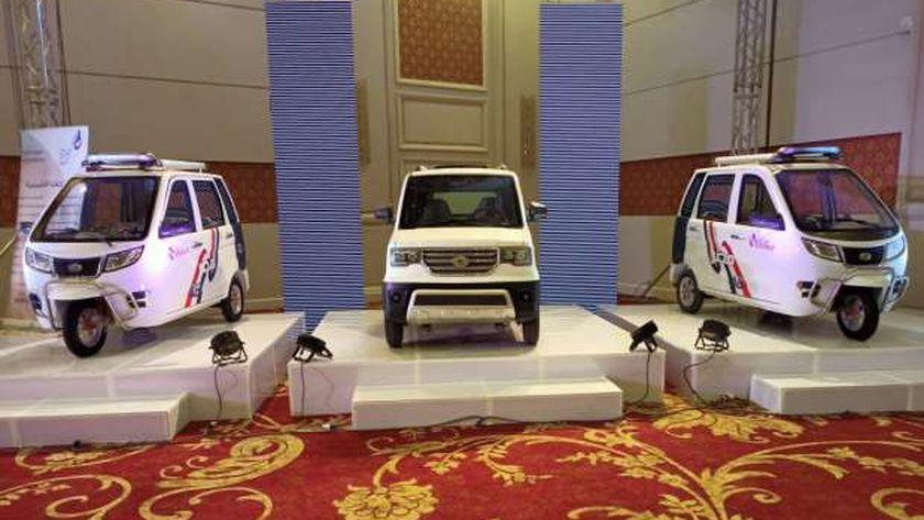 حفل فاعليات إطلا السيارة الكهربائية من شركة دوليبات