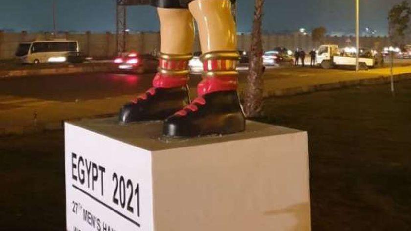 جهاز مدينة حدائق اكتوبر ينهي استعدادته لإستقبال بطولة العالم لكرة اليد