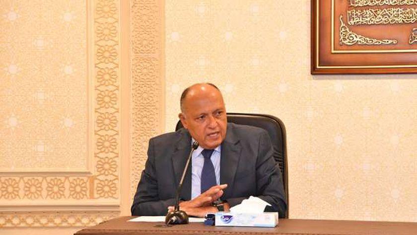 السفير سامح شكري، وزير الخارجية