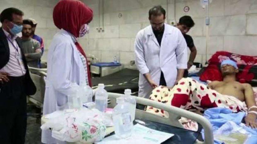 إصابات الفطر الأسود فى العراق