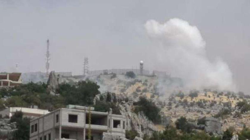"""تفاصيل تبادل إطلاق النار بين """"حزب الله"""" والجيش الإسرائيلي بمزارع شبعا"""