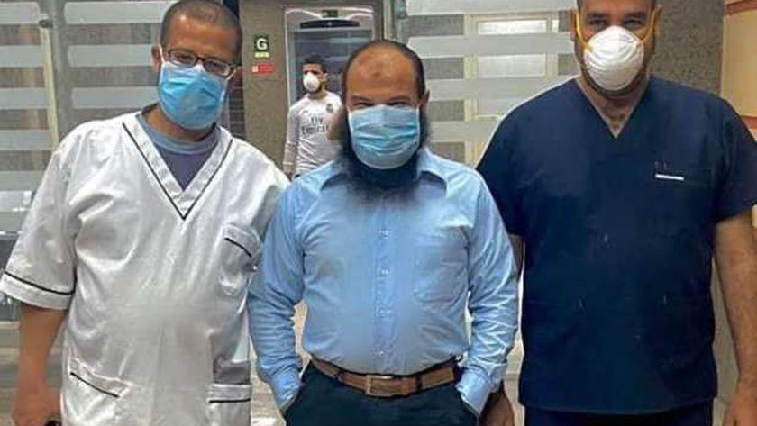 أطباء العزل بمستشفى ملوي