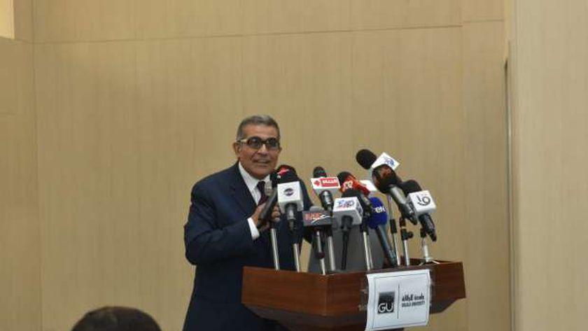 أشرف حيدر، القائم بأعمال رئيس جامعة الجلالة