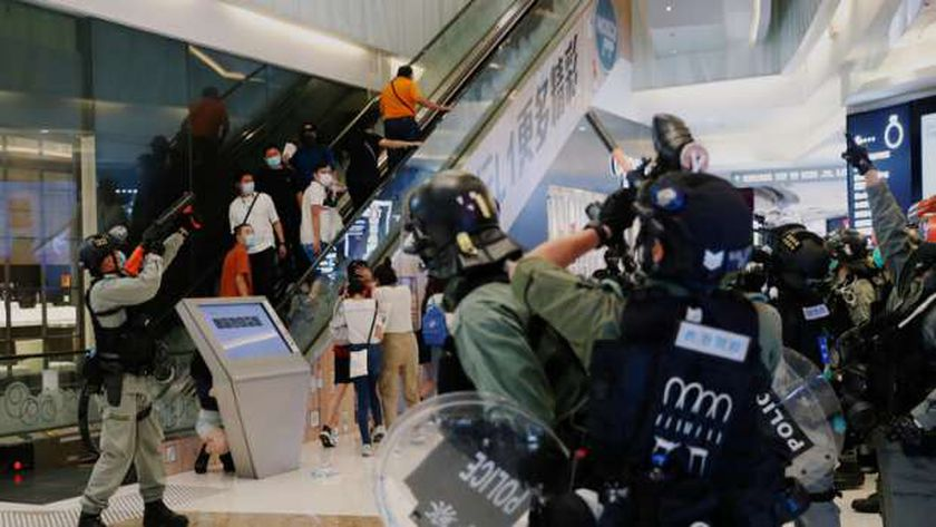 احتجاجات فى هونج كونج
