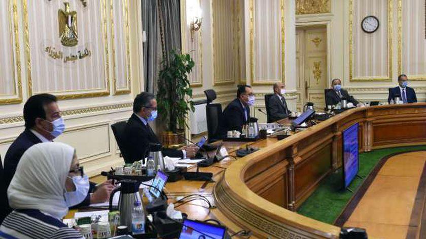 جانب من اجتماع الوزراء اليوم