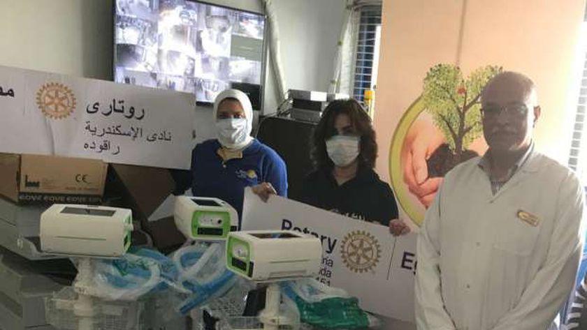 روتاري مصر يطلق حملة عملاقة لدعم الجيش الأبيض في المحافظات