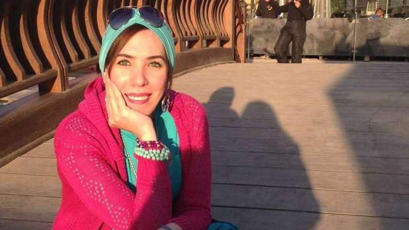 الفنانة التشكيلية المصرية شيرين بدر