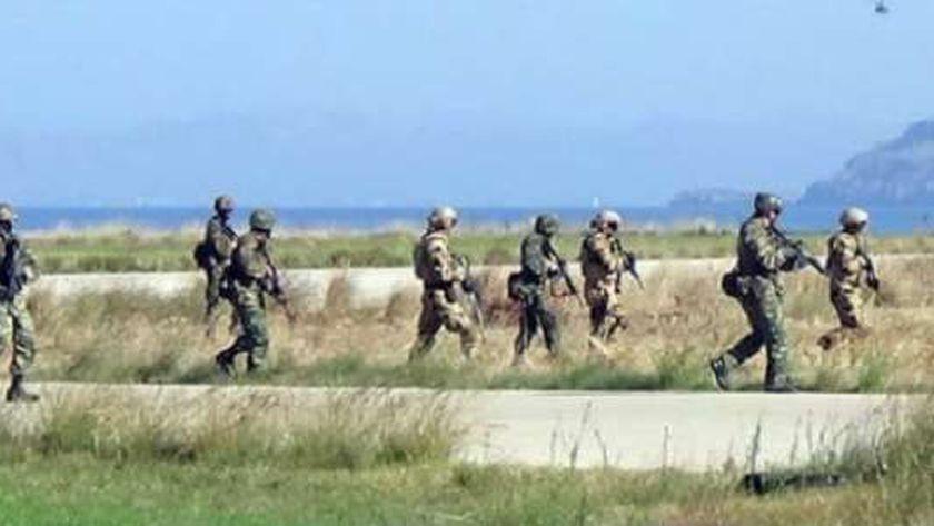 القوات المصرية واليونانية والقبرصية خلال تدريب «ميدوزا 9»