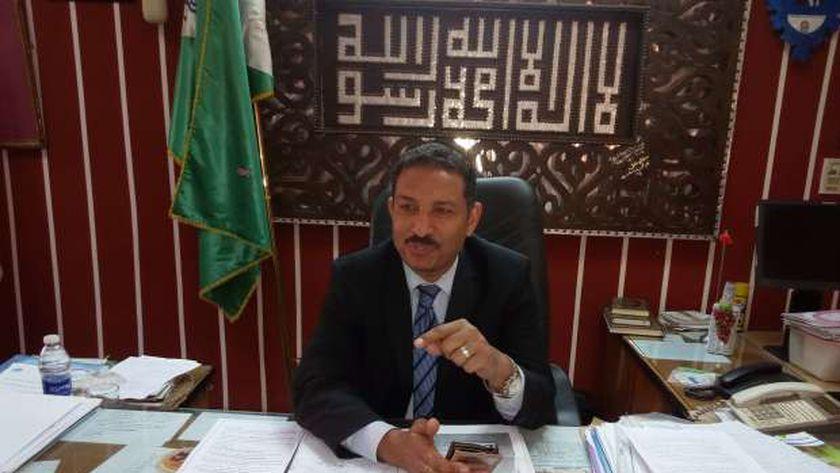 أشرف سلومة مدير إدارة الهرم التعليمية