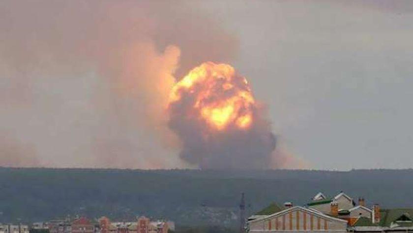الانفجار النووي بروسيا
