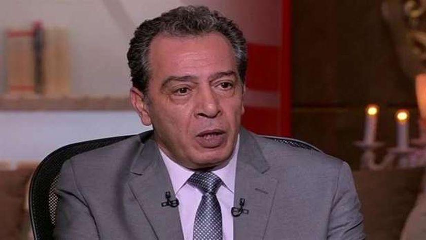 الدكتور أشرف عقبة، رئيس أقسام الباطنة والمناعة بجامعة عين شمس