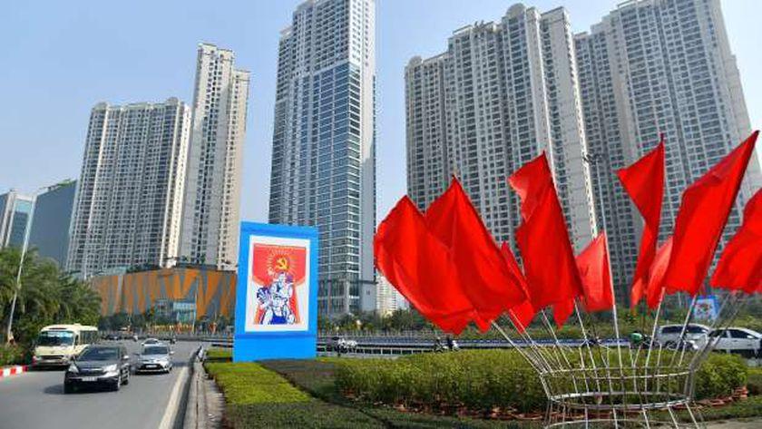 الشعب الفيتنامى يرحب بالمؤتمر الثالث عشر للحزب الشيوعى